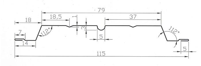 Схема штакетника Авангард