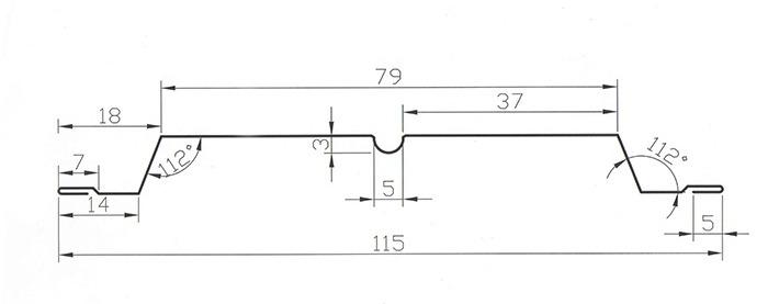 Схема штакетника Классик