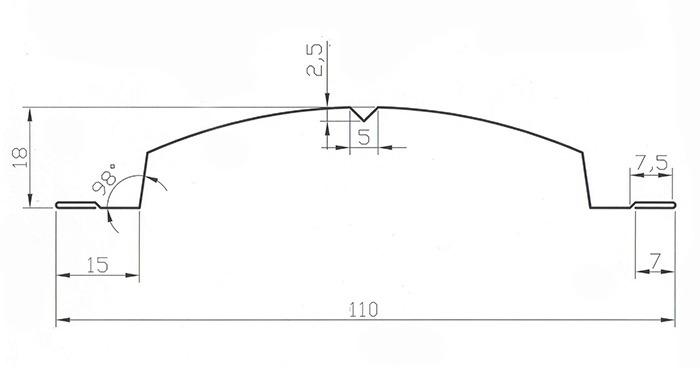 Схема штакетника Кантри